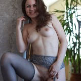 sexy mom with cute stockings #8
