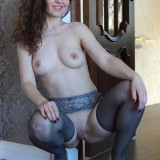 sexy mom with cute stockings #3