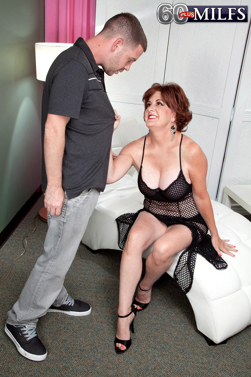 granny with dd cups gets her ole spunk hole cleaned out after 2 years without sex