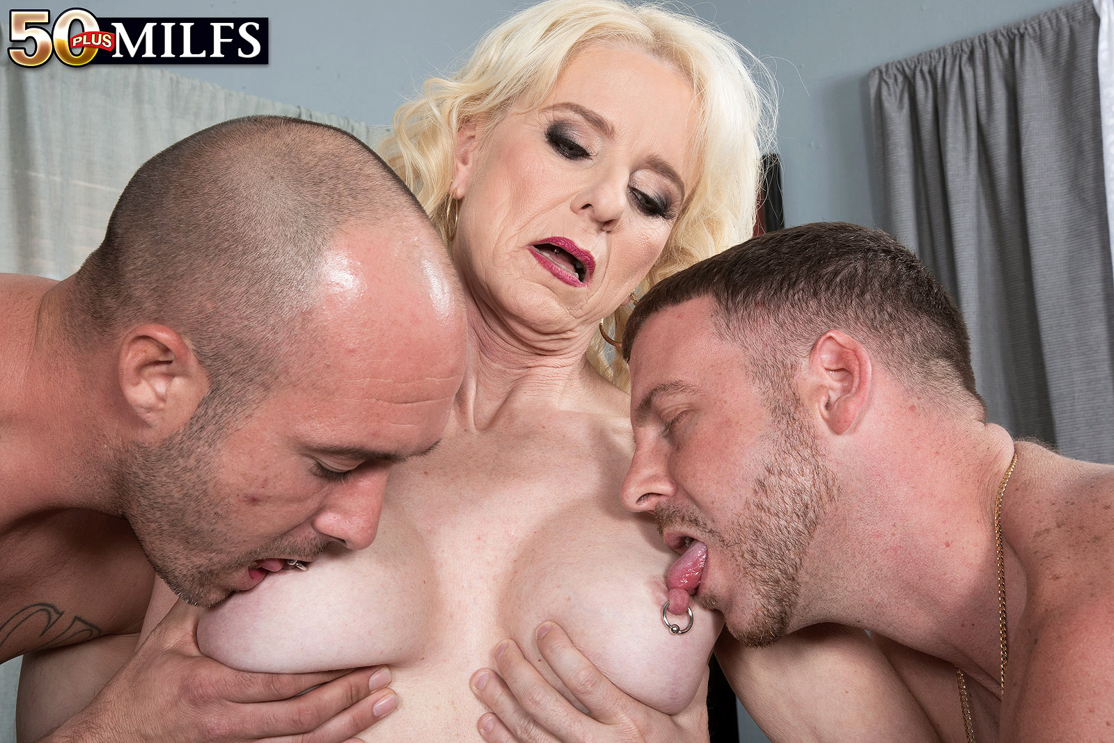 grannys anal and oral creampie #1