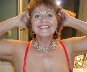 busty swinger  oldie bliss giving her debut at tacamateurs
