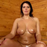 hot mature wife invites her stepson inside the sauna for a common wank #10_thumb
