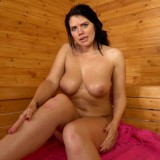hot mature wife invites her stepson inside the sauna for a common wank #12_thumb