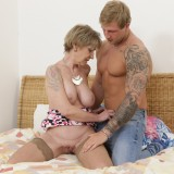 oma is so happy about her new young lover , he can eat her pussy like no other man in her life before #12_thumb