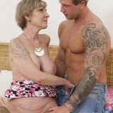 oma is so happy about her new young lover , he can eat her pussy like no other man in her life before #10_thumb