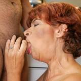 Putting my face inside grannys tastefull crotch #15_thumb