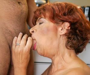 diving my face inside grannys tastefull crotch – hot new video