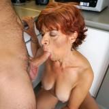Putting my face inside grannys tastefull crotch #7_thumb