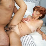 Putting my face inside grannys tastefull crotch #5_thumb