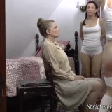 granny spanks her two little daughters before bringing them to bed #13_thumb