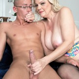 60 years old cures the premature ejaculation problems of her stepsun #12_thumb