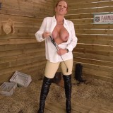 granny faye rampton is teaching you a serious lesson with her riding whip #15_thumb