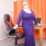 my busty ole office granny feels kinky today – bertha 59 begging for payroll raise #12_thumb