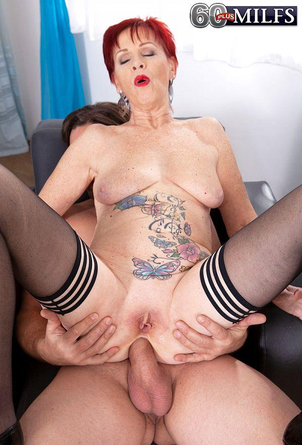 Granny gets ass-fucked - Caroline Hamsel and Tom Holland (108 Photos) - 60 Plus MILFs picture 2