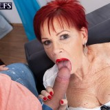 Granny gets ass-fucked - Caroline Hamsel and Tom Holland (108 Photos) - 60 Plus MILFs picture 14