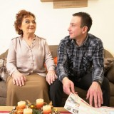 Old domineering grandmother deflowered inexperienced man and demands lots of kisses with tongue picture 3