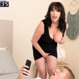 71-year-old Christina fucks a 25-year-old - Christina Starr and Oliver Flynn (84 Photos) - 60 Plus MILFs picture 7