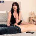 deepthroat pleasures with 60plus gilf Christina