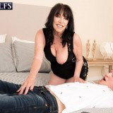 71-year-old Christina fucks a 25-year-old - Christina Starr and Oliver Flynn (84 Photos) - 60 Plus MILFs picture 11