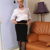 sexy anatomy lesson with granny Lucinda from Auntjudys picture 3