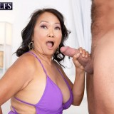 She's 70, she has a hairy pussy and she's getting fucked - Mandy Thai and Brad Newman (76 Photos) - 60 Plus MILFs picture 10