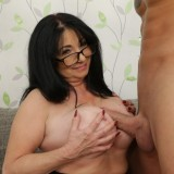 his first sexual intercourse with a much older woman. picture 13