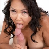 She's 70, she has a hairy pussy and she's getting fucked - Mandy Thai and Brad Newman (76 Photos) - 60 Plus MILFs picture 13