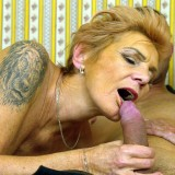Granny shares her sugarboy with her best old friend. picture 15