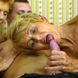 Granny shares her sugarboy with her best old friend. picture 10