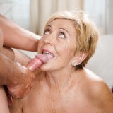 granny as substitute for the daughter who is cheating on her young housband picture 14