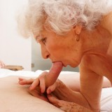 new shocking gallery from mature.nl - young romero diving deep inside grannys steaming old cunt picture 10