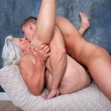 even if it might take a bit longer - 70years old granny will make this young guy cum hard and deep inside her old pussy picture 11