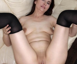 old horny granny enjoys deepthroating a young well built peace of meat