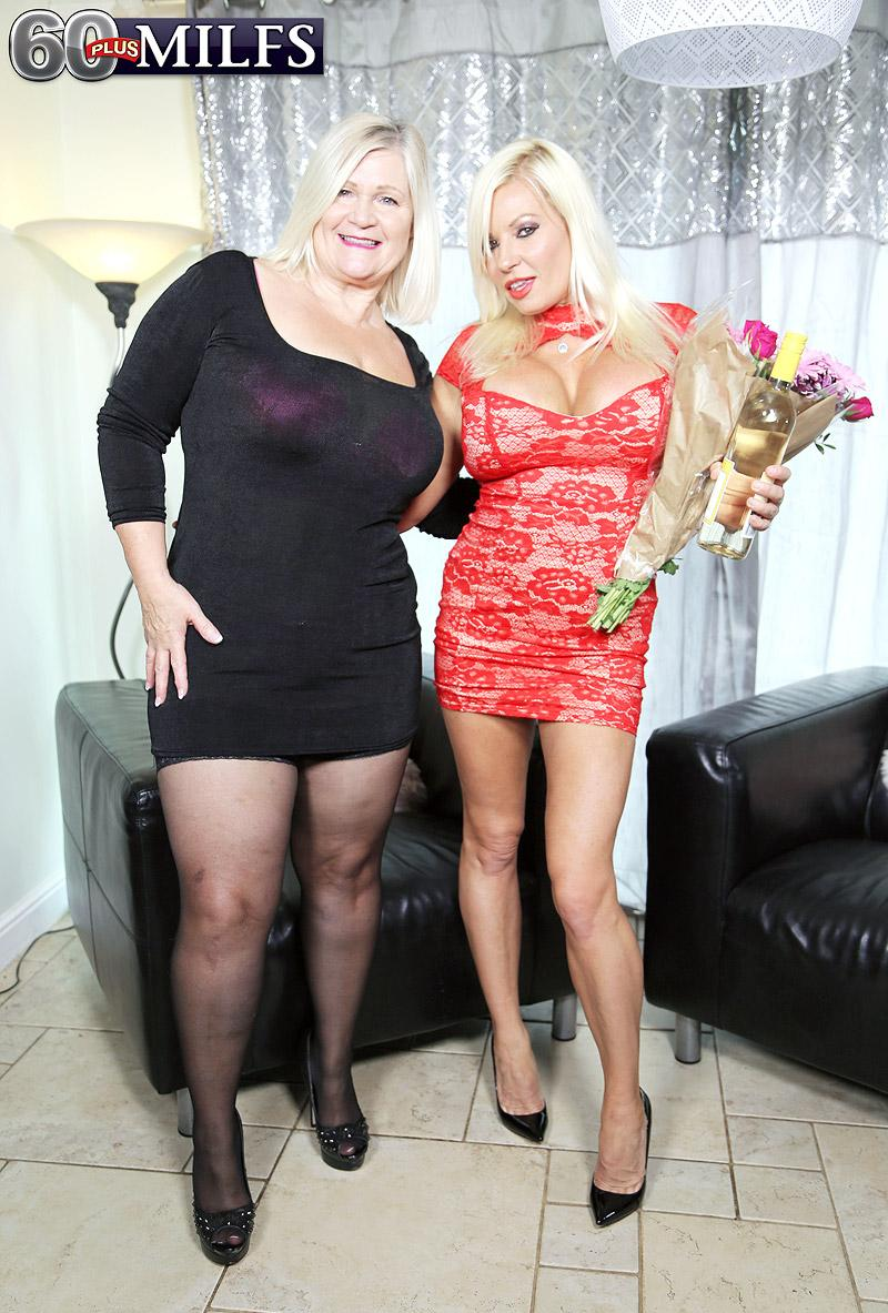 Lacey's gift to Michelle: young meat - Lacey Starr, Michelle Thorne, and Roger Johnson (61 Photos) - 60 Plus MILFs picture 2