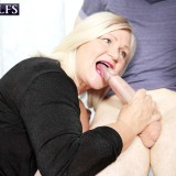 Lacey's gift to Michelle: young meat - Lacey Starr, Michelle Thorne, and Roger Johnson (61 Photos) - 60 Plus MILFs picture 13