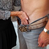 helpful senior consultant lady helping a young bro out with hand and blowjob picture 7
