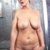 Nice tits, hairy pussy and a big toy - Nicol Mandorla (98 Photos) - 60 Plus MILFs picture 10