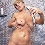 Nice tits, hairy pussy and a big toy - Nicol Mandorla (98 Photos) - 60 Plus MILFs picture 15