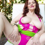 Wearing a revealing swimsuit at 73 - Katherine Merlot (51 Photos) - 60 Plus MILFs picture 6