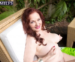 66 years old and horny like hell – granny catherine merlot