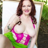 Wearing a revealing swimsuit at 73 - Katherine Merlot (51 Photos) - 60 Plus MILFs picture 5