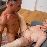granny gets her 70year old pussy destroyed by hot bodybuilder picture 9