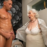 granny gets her 70year old pussy destroyed by hot bodybuilder picture 7