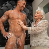 granny gets her 70year old pussy destroyed by hot bodybuilder picture 5