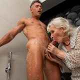 granny gets her 70year old pussy destroyed by hot bodybuilder picture 6